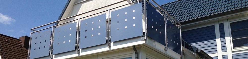Metallbau für Nützen - Rungius: Schlosserei, Aluminium, Metallverarbeitung, Edelstahl, Geländer, Industrieservice